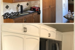 Cabinets Before & After